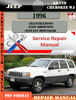 Thumbnail Jeep Grand Cherokee WJ 1996 Digital Service Repair Manual