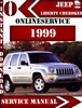 Thumbnail Jeep Liberty Cherokee 1999 Digital Service Repair Manual