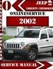 Thumbnail Jeep Liberty Cherokee 2002 Digital Service Repair Manual
