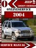 Thumbnail Jeep Liberty Cherokee 2004 Digital Service Repair Manual