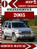 Thumbnail Jeep Liberty Cherokee 2005 Digital Service Repair Manual
