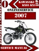 Thumbnail Kawasaki KX85 KX100 2007 Digital Service Repair Manual