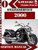 Thumbnail Kawasaki VN2000 Vulcan 2000 Digital Service Repair Manual