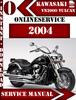 Thumbnail Kawasaki VN2000 Vulcan 2004 Digital Service Repair Manual