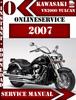 Thumbnail Kawasaki VN2000 Vulcan 2007 Digital Service Repair Manual