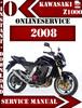 Thumbnail Kawasaki Z1000 2008 Digital Service Repair Manual