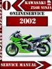 Thumbnail Kawasaki ZX6R Ninja 2002 Digital Service Repair Manual