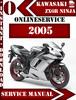 Thumbnail Kawasaki ZX6R Ninja 2005 Digital Service Repair Manual