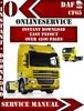 Thumbnail DAF CF 65 Digital Service Repair Manual