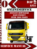 Thumbnail DAF LF 55 Digital Service Repair Manual