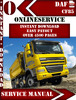 Thumbnail DAF CF 85 Digital Service Repair Manual