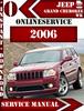 Thumbnail JEEP Grand Cherokee WK 2006 Digital Service Repair Manual