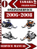 Thumbnail Yamaha Phazer PZ50W 2006-2008 Digital Service Repair Manual