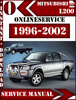 Thumbnail Mitsubishi L200 1996-2002 Digital Service Repair Manual
