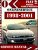 Thumbnail Fiat  Marea and Marea Weekend 1998-2001 Service Repair Manua
