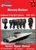 Thumbnail Mercury Mariner 75 Hp XD 3 Cylinder 1987-1993 Service Manual