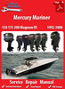 Thumbnail Mercury Mariner 150 175 200 Magnum III 1992-2000 Service Manual