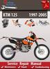 Thumbnail KTM 125 1997-2005 Online Service Repair Manual