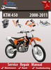 Thumbnail KTM 450 2008-2011 Online Service Repair Manual