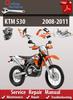 Thumbnail KTM 530 2008-2011 Online Service Repair Manual