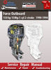 Thumbnail Force Outboard 150 hp 5 cyl 2-stroke 1990-1994 Service Manual