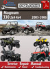Thumbnail Polaris Magnum 330 2x4 4x4 2003-2006 Online Service Manual