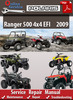 Thumbnail Polaris Ranger 500 4x4 EFI 2009 Online Service Repair Manual