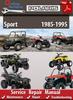 Thumbnail Polaris Sport 1985-1995 Online Service Repair Manual