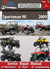 Thumbnail Polaris Sportsman 90 2009 Online Service Repair Manual