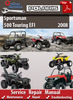 Thumbnail Polaris Sportsman 500 Touring EFI 2008 Online Service Manual