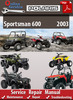 Thumbnail Polaris Sportsman 600 2003 Online Service Repair Manual