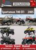 Thumbnail Polaris Sportsman 700 EFI 2005 Online Service Repair Manual