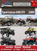 Thumbnail Polaris Sportsman 800 EFI 2009 Online Service Repair Manual