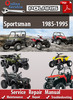Thumbnail Polaris Sportsman 1985-1995 Online Service Repair Manual