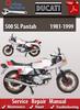 Thumbnail Ducati 500 SL Pantah 1981-1999 Online Service Repair Manual