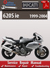 Thumbnail Ducati 620S ie 1999-2004 Online Service Repair Manual