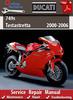 Thumbnail Ducati 749s testastretta 2000-2006 Online Service Manual