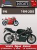 Thumbnail Ducati 996 1999-2003 Online Service Repair Manual
