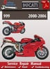 Thumbnail Ducati 999 2000-2006 Online Service Repair Manual