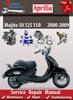 Thumbnail Aprilia Mojito 50 125 150 2000-2009 Online Service Manual