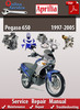Thumbnail Aprilia Pegaso 650 1997-2005 Online Service Repair Manual