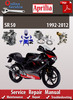 Thumbnail Aprilia SR 50 1992-2012 Online Service Repair Manual