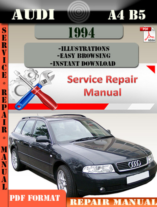 audi a4 b5 1994 factory service repair manual pdf. Black Bedroom Furniture Sets. Home Design Ideas