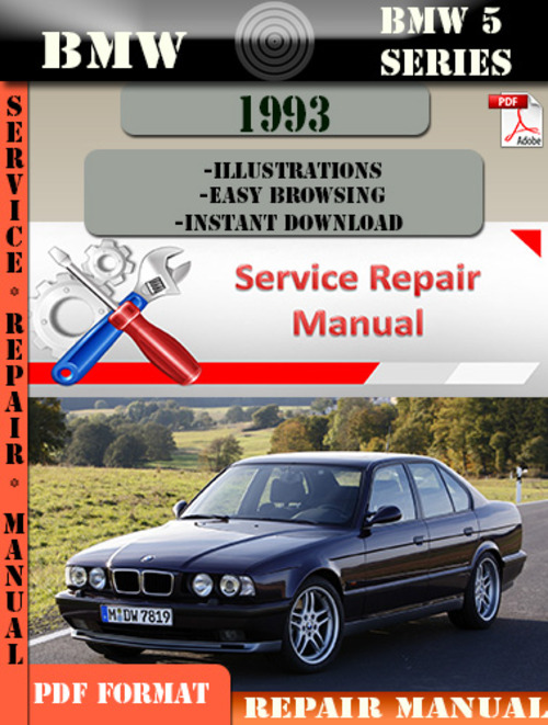 bmw 5 series 1993 factory service repair manual pdf. Black Bedroom Furniture Sets. Home Design Ideas