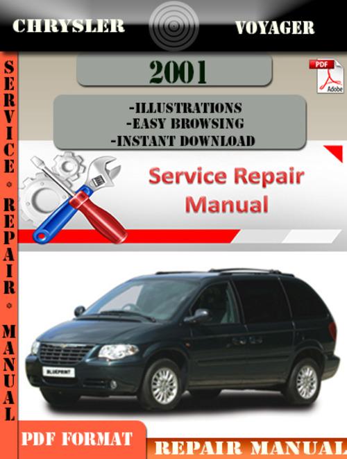 Pay for Chrysler Voyager 2001 Factory Service Repair Manual PDF.zip