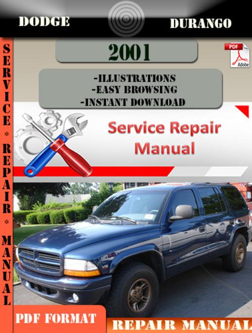 Pay for Dodge Durango 2001 Factory Service Repair Manual PDF.zip