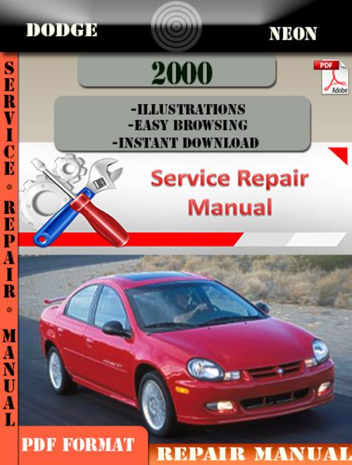dodge neon 2000 factory service repair manual pdf zip download ma rh tradebit com 2000 dodge neon repair manual free download Dodge Neon Interior Replacement Parts