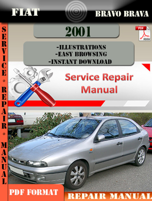 fiat bravo brava 2001 factory service repair manual pdf zip downl rh tradebit com Auto Repair Manuals Ford Flex 1999 Club Car Repair Manual
