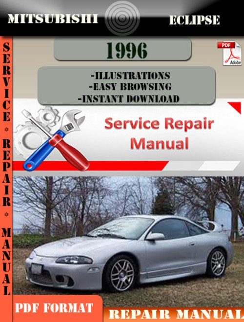 Pay for Mitsubishi Eclipse 1996 Digital Factory Repair Manual