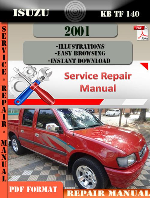 Pay for Isuzu KB TF 140 2001 Digital Factory Repair Manual